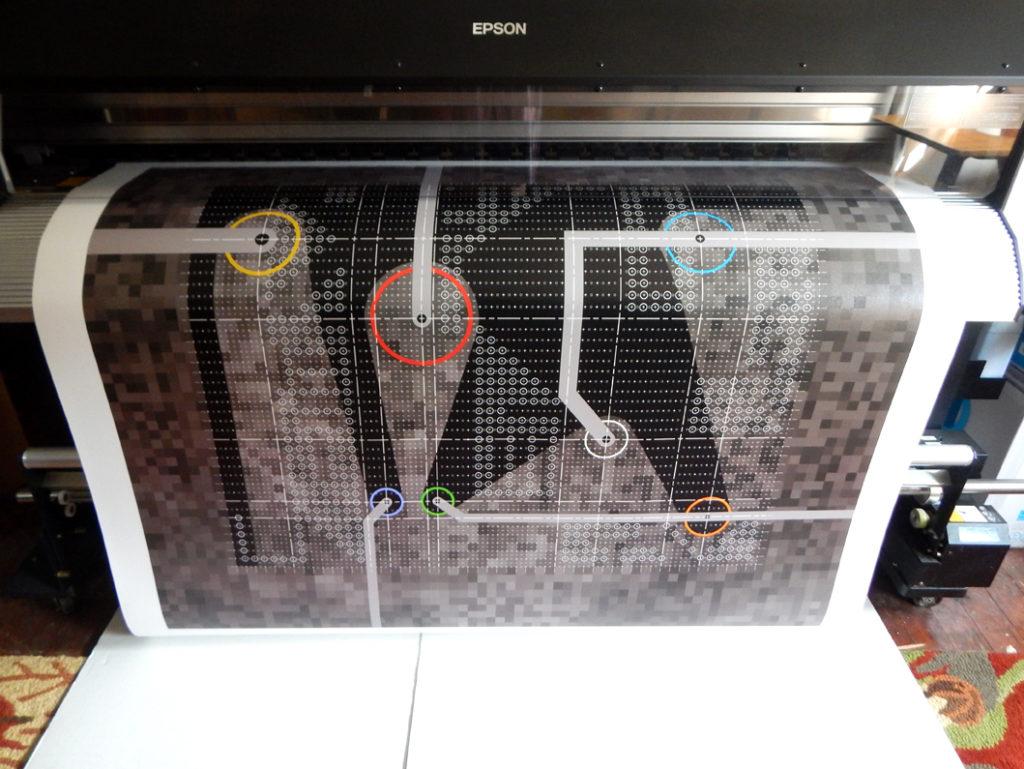 Printing Reformabit 4 on Epson GS6000